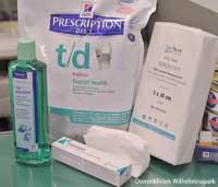T/D brokken van Hill's Pet Nutrition helpen tandproblemen te voorkomen